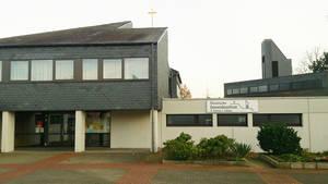 Unser Gottesdienstort: das ökumenische Gemeindezentrum in Hagen-Helfe